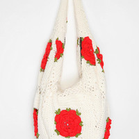 Urban Renewal Crocheted Hobo Bag