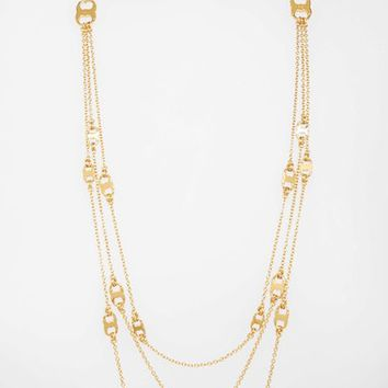 Tory Burch 'Gemini' Link Multistrand Necklace | Nordstrom