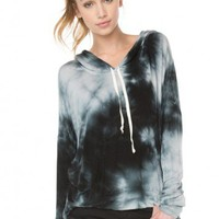 Brandy ♥ Melville |  Bettina Tie-Dye Hoodie - Clothing
