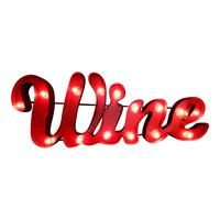 Wine Marquee Letter Light Sign