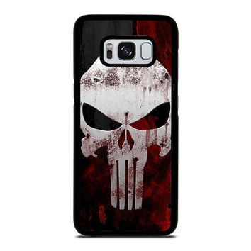 the punisher skull samsung galaxy s3 s4 s5 s6 s7 edge s8 plus note 3 4 5 8  number 1