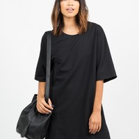 Oversized Shift Dress