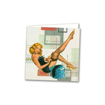 Mini pinup card w/ envelope