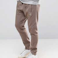adidas Originals Fallen Future Joggers In Beige BR1805 at asos.com