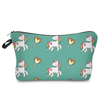 unicorn pencil case Kawaii trousse scolaire stylo Creative kalem kutusu pen case estuche escolar school supplies pencil box