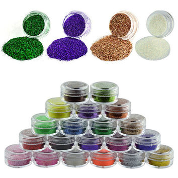Nail Decoration nail glitter used with uv gel sequins Super bright flash Fine powder For Nail Art Tips M522