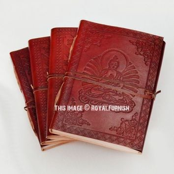 Buddha Leather Writing Journal Notebook on RoyalFurnish.com