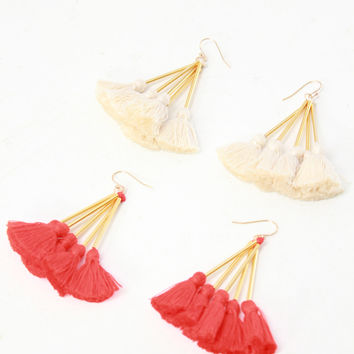 Tassel Nima Earrings