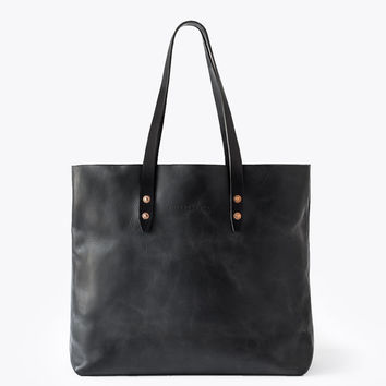 The Vintage Tote Bag - Black