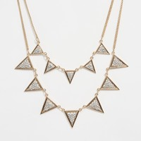 River Island Multirow Necklace