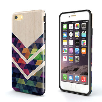 geometrical wood Tough iPhone 6S Case,iPhone 6s Plus Case,iPhone 5s Case,iPhone SE Case