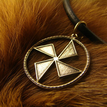 Stribozhich Pendant, Ancient slavic amulet, Nordic talisman, Pagan Amulet, Slavic Jewelry,  Gift for him, Gift for her