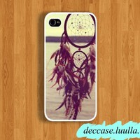 IPHONE 5 CASE DREAM Catcher at the sea side iPhone case iPhone 4 Case iPhone 4S case Hard Plastic Case Rubber Case