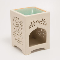 Oil Burner/Oli Warmer/Tart warmer/Wax tart warmer (Little Flower)