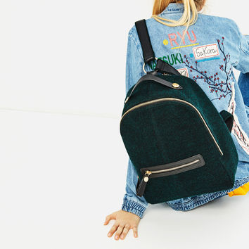BACKPACK WITH ZIPS DETAILS