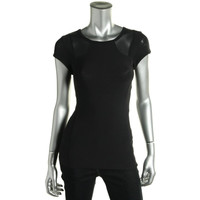 MSP by Miraclesuit Womens Slimming Cap Sleeves T-Shirt