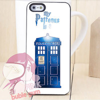 my patronus is a tardis doctor who for iPhone 4/4s, iPhone 5, Phone 5s, iPhone 5c, Samsung Galaxy s3, Samsung Galaxy s4 Case