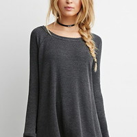 Frayed Thermal Top