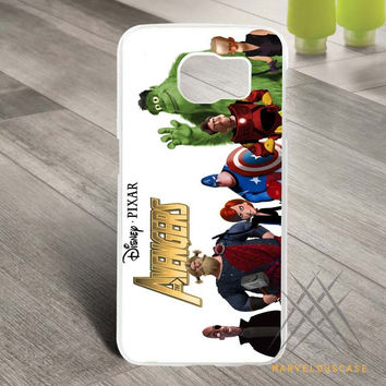 disney pixar the avangers Custom case for Samsung Galaxy