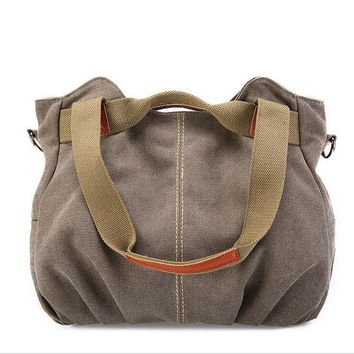 Canvas Women shoulder bag women handbag Fashion Crossbody messenger bag