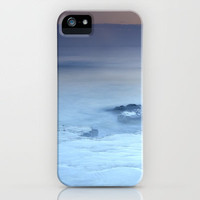 purple sea at sunset iPhone Case by Guido Montañés | Society6