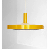 Beautifu  yellow vintage lamps produced by Philips