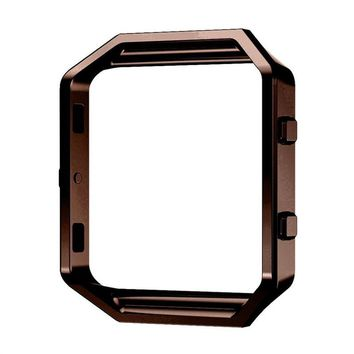 Watch Frame Stainless Steel Metal Frame Holder Shell Housing Case for Fitbit Blaze Smart Watch