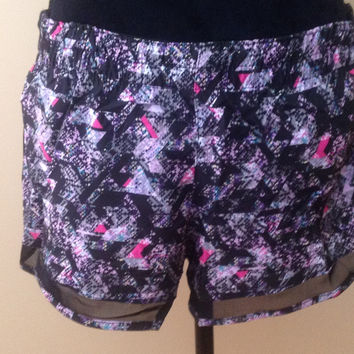 Woman's Athletic Workout Shorts- Bottoms-Training at Affordable Prices