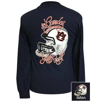 Auburn Tigers Its Gameday Yall Ready Long Sleeve T-Shirt