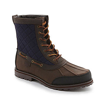 Polo Ralph Lauren Men's Whitehill Casual Boots - Dark Brown/Dark Brown