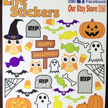 Halloween Stickers. Perfect for from LifeStickers on Etsy | Quick