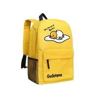 Japanese Anime Gudetama Backpacks Cute School Bag For Teenagers Cute Backpack Kids Schoolbag Children Shoulder Bags