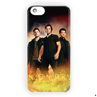 Supernatural Winchester Team Collage For iPhone 5 / 5S / 5C Case