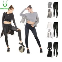top quality SPT Summer Woman Sport Suits Sport Clothing Woman Sportswear Fitness Running Quick Dry Yoga Sets Jogging Gym Suits