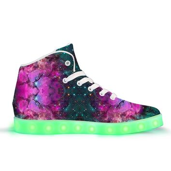 Extraterrestrial - APP Controlled High Top LED Shoes