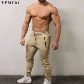 Casual Joggers Pants Men Sweatpants Skinny High Elasticity Sportswear Tracksuit Jogger Pants Male Trousers