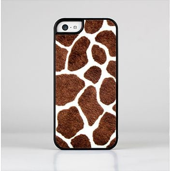 The Real Giraffe Animal Print Skin-Sert for the Apple iPhone 5c Skin-Sert Case