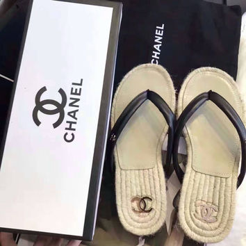 Chanel Women Sandal Slipper Shoes