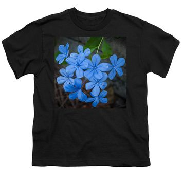 Blue Flower - Youth T-Shirt