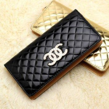 DCCKJR8 Fashion ladies handbag high-end candy color wallet Lingge women's wallet CC bright handbag