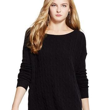 Polo Ralph Lauren Oversized Cable Knit Sweater