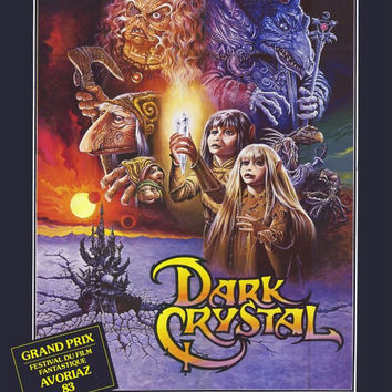 The Dark Crystal (Foreign) 11x17 Movie Poster (1982)