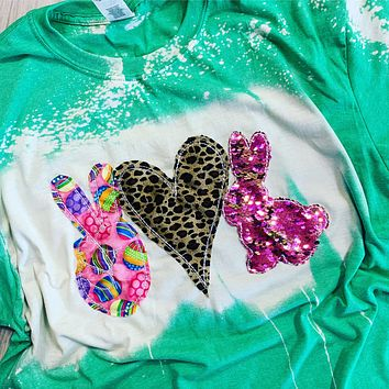 Peace, Love, Easter Bunny Shirt