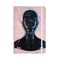 "Danny Ivan ""Calm Woman"" Pink Black Everything Notebook"