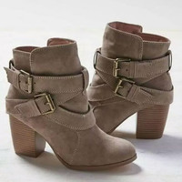 Fall/Winter Collection 2017 Women Casual Urban, Hip Hop and Street Style Thick Heel Leather Boots