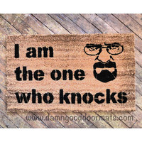 Breaking Bad- I am the one who knocks, Heisenberg doormat