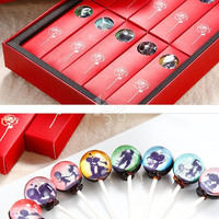 Lollipop, Food ,Gift, Snack, Candy (170 grams / 1 box / 10 pieces )