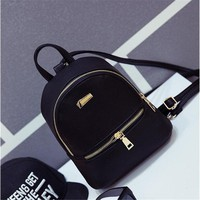 Hot 2016 Fashion Women's Leather Backpack children backpacks mini backpack women back pack backpacks for teenage girls New Style