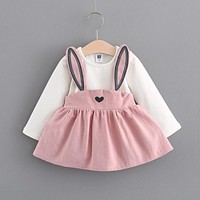 Bunny Ear Infant Dress
