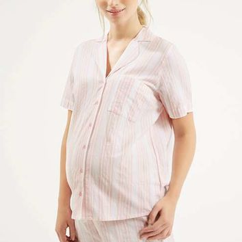 MATERNITY Stripe Pyjama Set